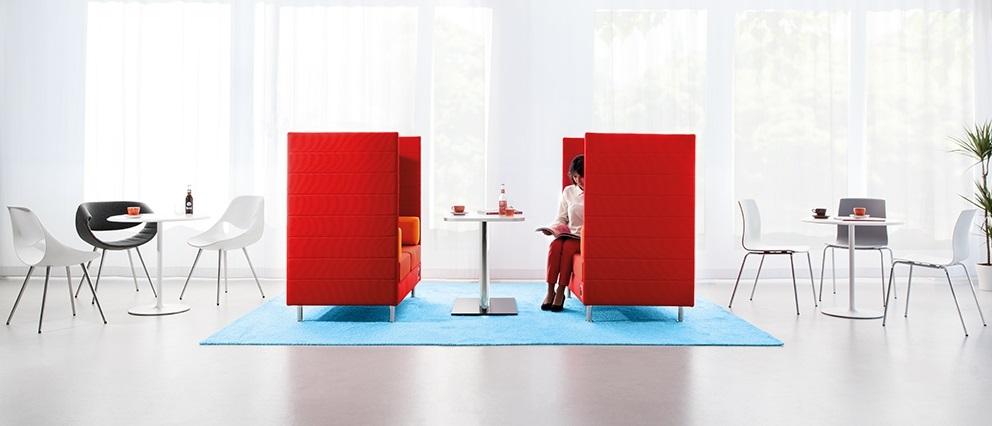 atelier divano fonoassorbente privacy - riganelli