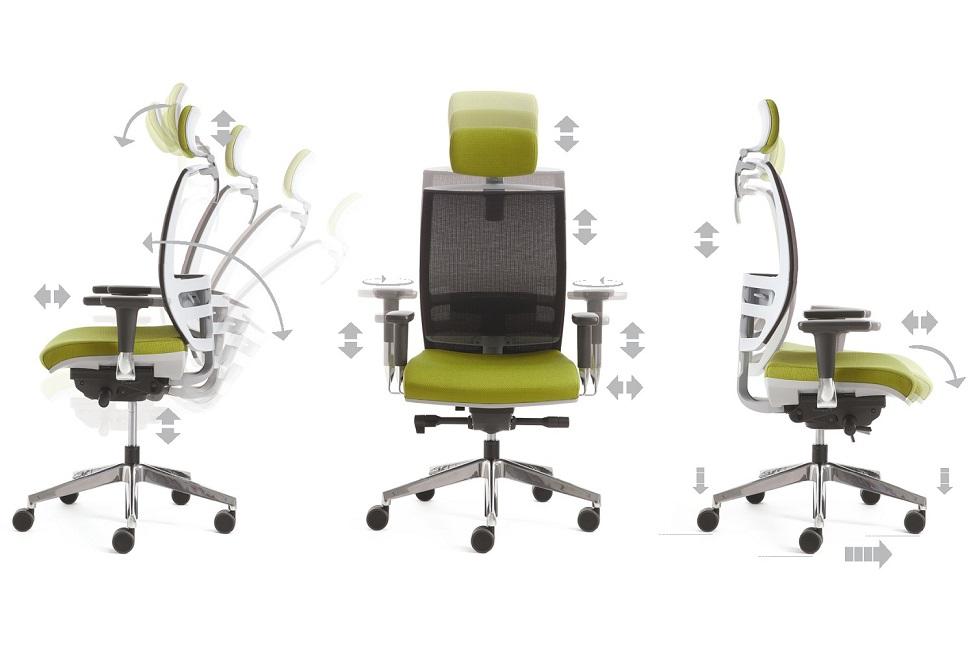 Konica movimenti flessibili seduta ufficio - riganelli